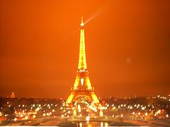 Torre Eiffel ~ Contaminación Lumínica