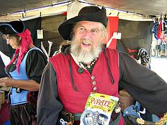 Pirate - Tallships Festival, Victoria, BC